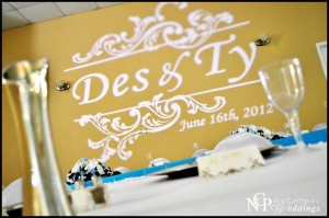 Des & Ty's Wedding Lighting - East Texas Conference Center