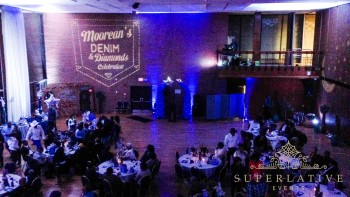 western gobo light denim and diamonds party blackburn center DC
